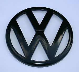 MK4 VW Front Grille Badge Black
